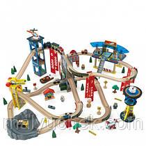 """Дерев'яна залізниця """"Супер магістраль"""" KidKraft 17809"""