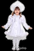 Детский карнавальный костюм Снегурочки Код 2039