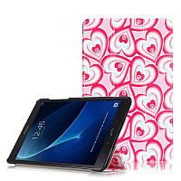 Чехол Samsung Galaxy Tab A 10.1 T580 T585 Ultra Slim Pink Hearts