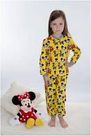Пижама детская теплая байковая для девочки Wiktoria W 165