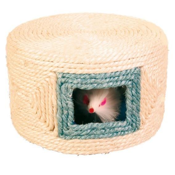 Іграшка Мишка в будиночку сизаль 16 10см