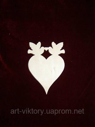 Маленькое сердце с голубями, фото 2