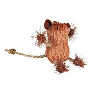 Мишка коричнева з канатика 8см