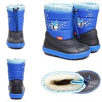 Сапоги Demar KENNY a (синие) 1502 a