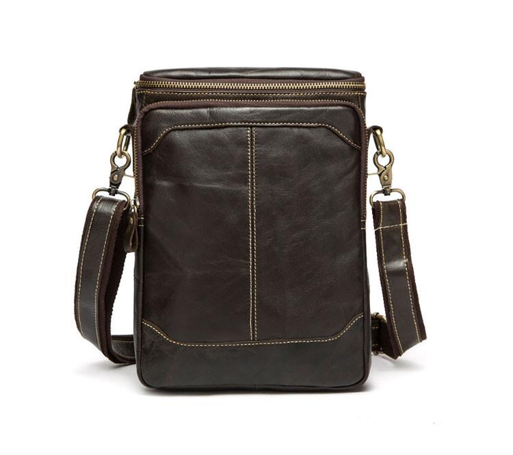 Мужская кожаная сумка на плечо Marrant