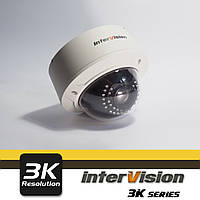 UHD-3K-35WAI, уличная антивандальная видеокамера InterVision  4 Мп Canon 2.8-12 мм ULTRA HD