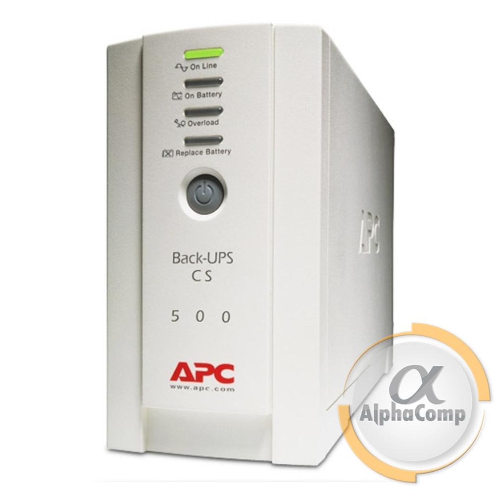 ИБП APC Back UPS CS500 (BK500-RS) без батареи БУ