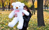 Плюшевая большая игрушка медведь, мишка 100 см, медвежонок ,белый