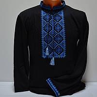 Трикотажная футболка вышиванка для мужчин