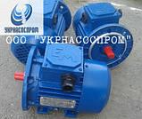Электродвигатель АИР 71 В2 1,1 кВт 3000 об/мин, фото 2