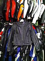 Мото куртка б/у кожа женская К-6