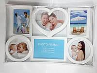Рамка коллаж пластиковая  на 6 фотографий