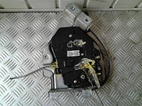 Механизм замка двери зад лев электр 4 пина VW Caddy III