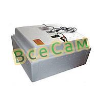 Инкубатор для яиц «Несушка» на 63 яйца с автоматическим переворотом (аналоговый терморегулятор)