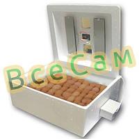 Инкубатор для яиц «Несушка» на 63 яйца с автоматическим переворотом (цифровой терморегулятор)