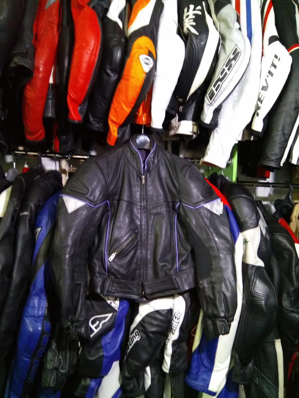 Мото куртка б/у кожа женская GERICKE