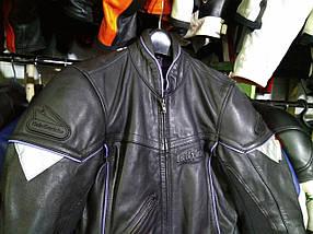 Мото куртка б/у кожа женская GERICKE, фото 2