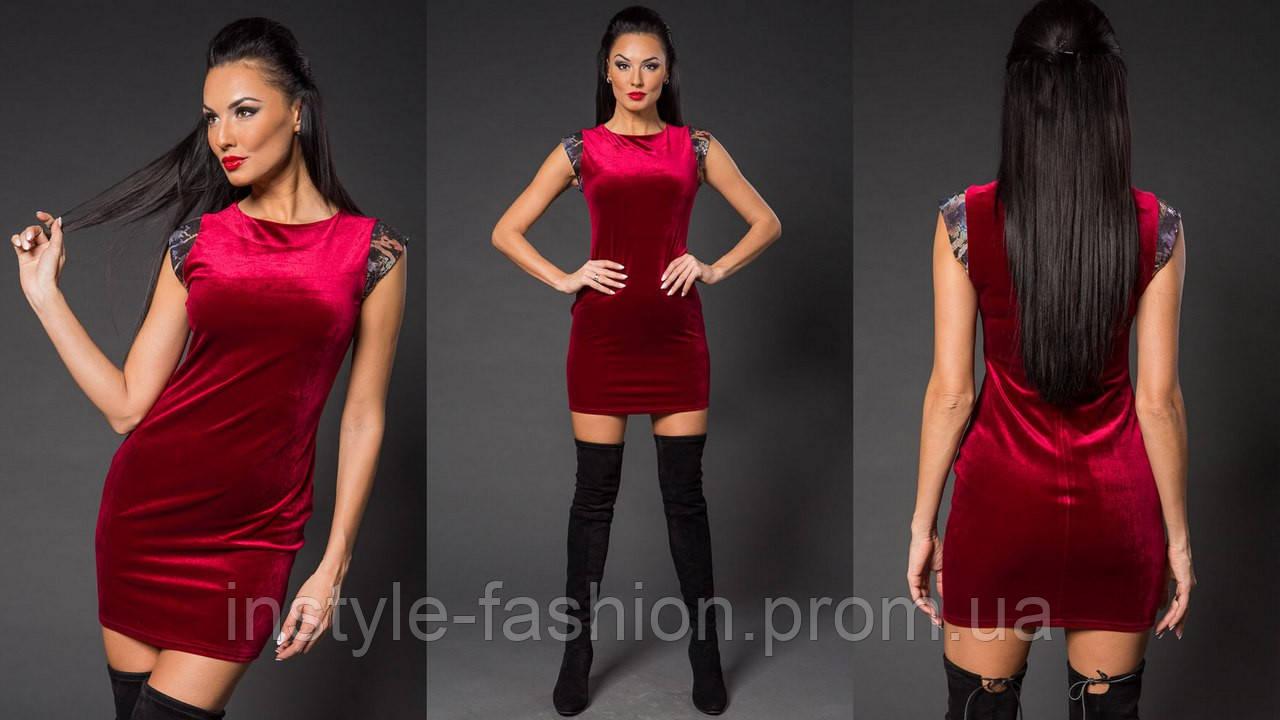 Женское модное бархатное платье с крылышками из пайетки бордовое - Сумки  брендовые, кошельки, очки 8c56176cff8