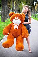 Плюшевая большая игрушка медведь, мишка 140 см, медвежонок , коричневый