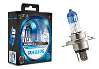Лампа галогенная PHILIPS H4 60/55 Вт 12V зеленая  12342 CVPG S2