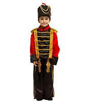 Карнавальний костюм гусара Лускунчика Олов'яного солдатика оптом 7 км