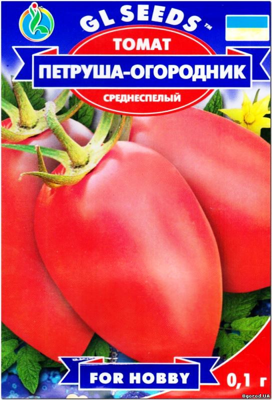 Семена Томат Петруша-Городник  0,1г  For Hobby