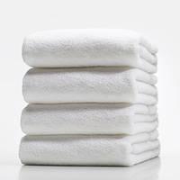 Набор белых махровых полотенец 5 шт.  70х140 LOTUS  отель Basic  550г/м2