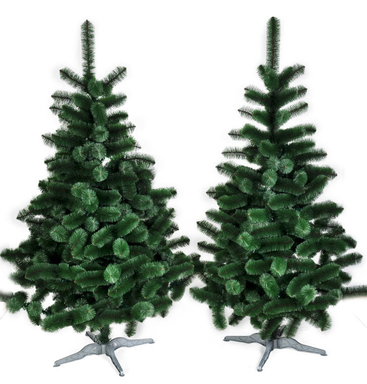 Искусственная елка 2,3 метра (сосна крымская) темно-зеленая