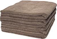 Набор махровых полотенец 70х140 -10шт. LOTUS  VAROL  кофейное