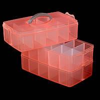 Пластиковый бокс - трансформер, большой  30 секций