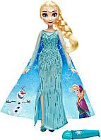 Модная  кукла Холодное Сердце в наряде с проявляющимся рисунком в ассорт.