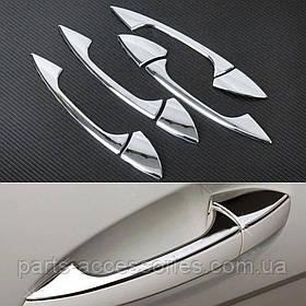 Хромові накладки на дверні ручки Mercedes A-Class W176 2013+ Нові