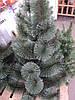 Искусственная елка 1,65 метра (сосна с инеем) темно-зеленая, фото 3