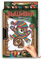 Набор для творчества Вышивка крестиком по номерам на растяжке Danko Toys