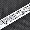 Mercedes SLK CLK SL CLS GL A B C E S эмблема значок надпись Kompressor новая, фото 3