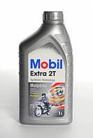 Масло для двухтактных двигателей Mobil Extra 2T, 1Л