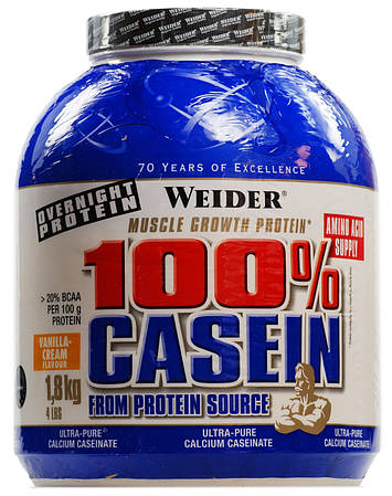 Weider Day & Night 100% Casein 1800g