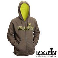 Куртка флисовая с капюшоном Norfin Hoody Green