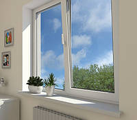 Окна, высота 1430 мм. ширина 1320 мм., фото 1
