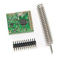Радіомодуль SI4432 (240-960МГц,  до 1км)