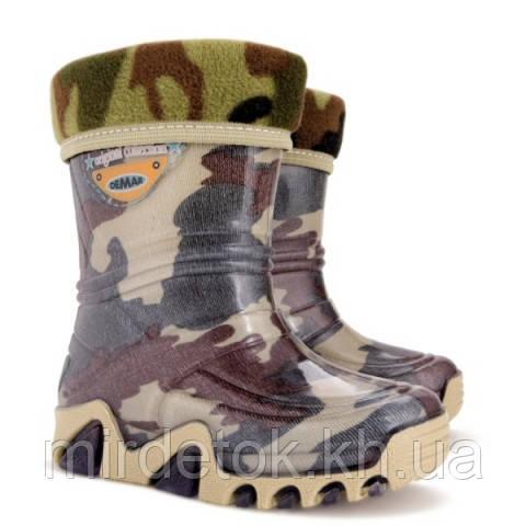 Резиновые сапоги Demar Stormic Lux Военные