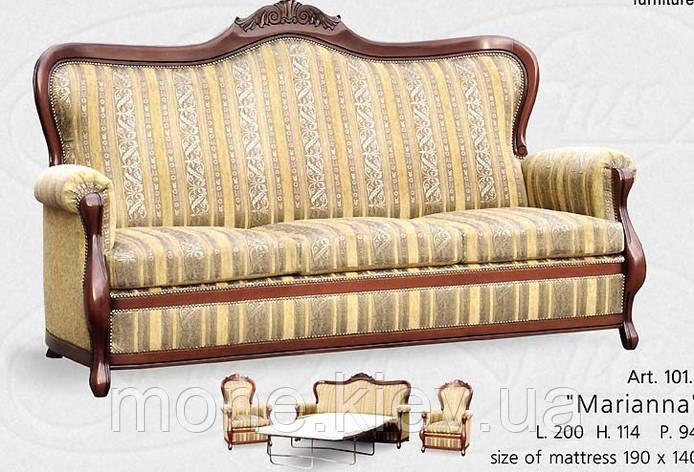 """Итальянский диван """"Марианна 4"""", фото 2"""