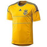 Игровая клубная футболка  сборной Украины Adidas FFU Home Jersey, фото 2