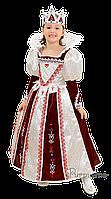Детский карнавальный костюм Королева Бордо Код. 673