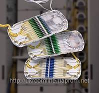 Комплект касет 2х12, FC/UPC,  FIST-GPST-12-АAС-2 (комутація)