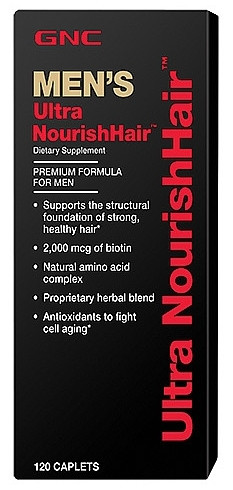 GNC Mens Ultra NourishHair 120 tablets
