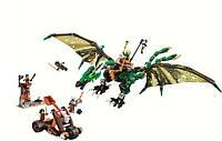 Конструктор Bela Ninja Ниндзя Зелёный энерджи дракон Ллойда: 603 деталей, 5 фигурок