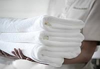 Банное полотенце 90х150 белое  LOTUS  VAROL 450 г/м2