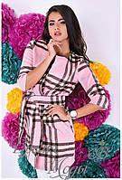Розовое пальто - накидка. 5 цветов.