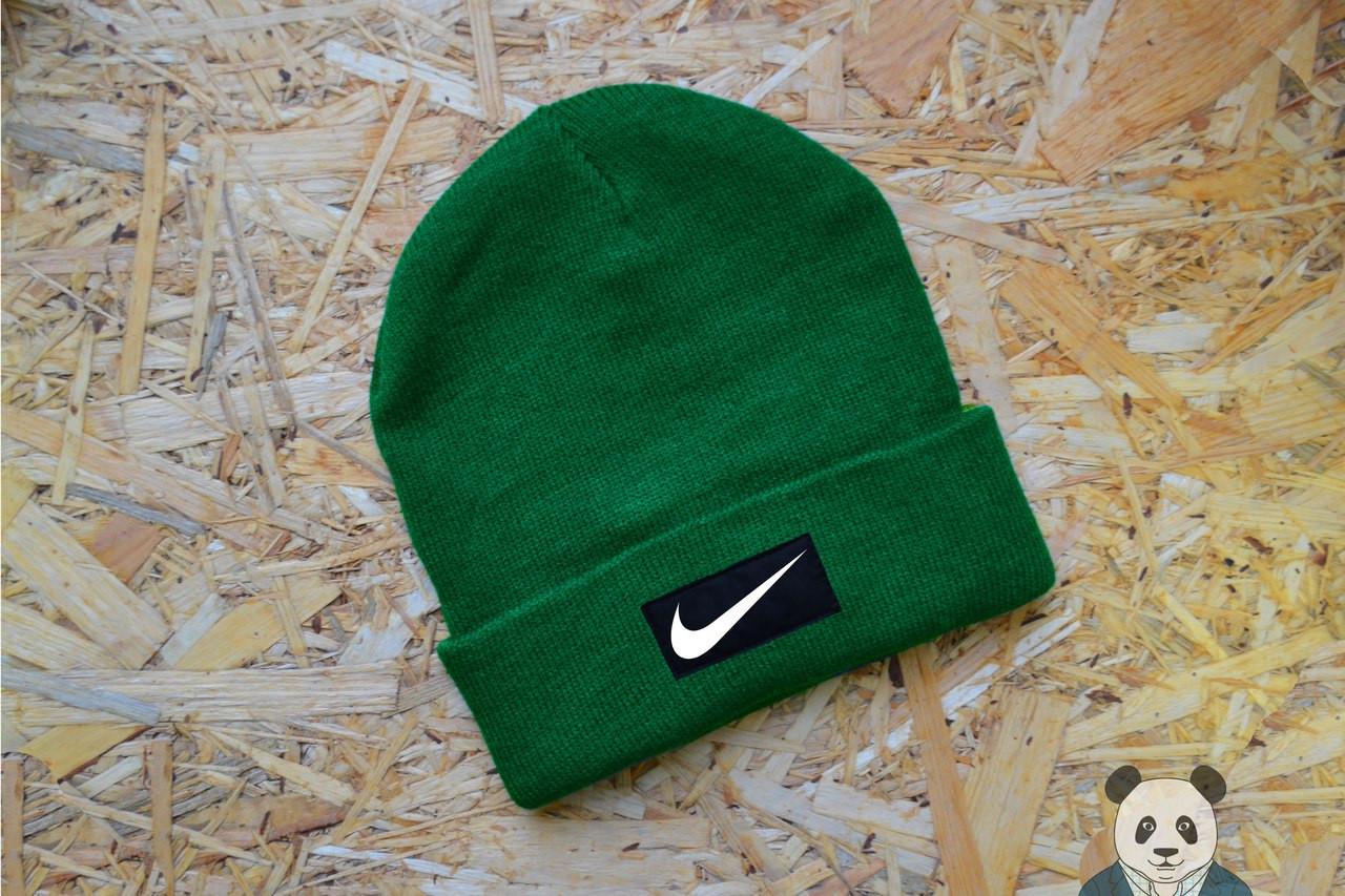 afb599e0 Молодежная мужская шапка найк,Nike зеленая, цена 200 грн., купить в ...